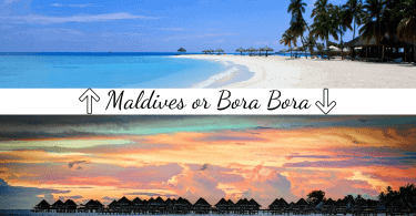 Which Is Better Maldives or Bora Bora